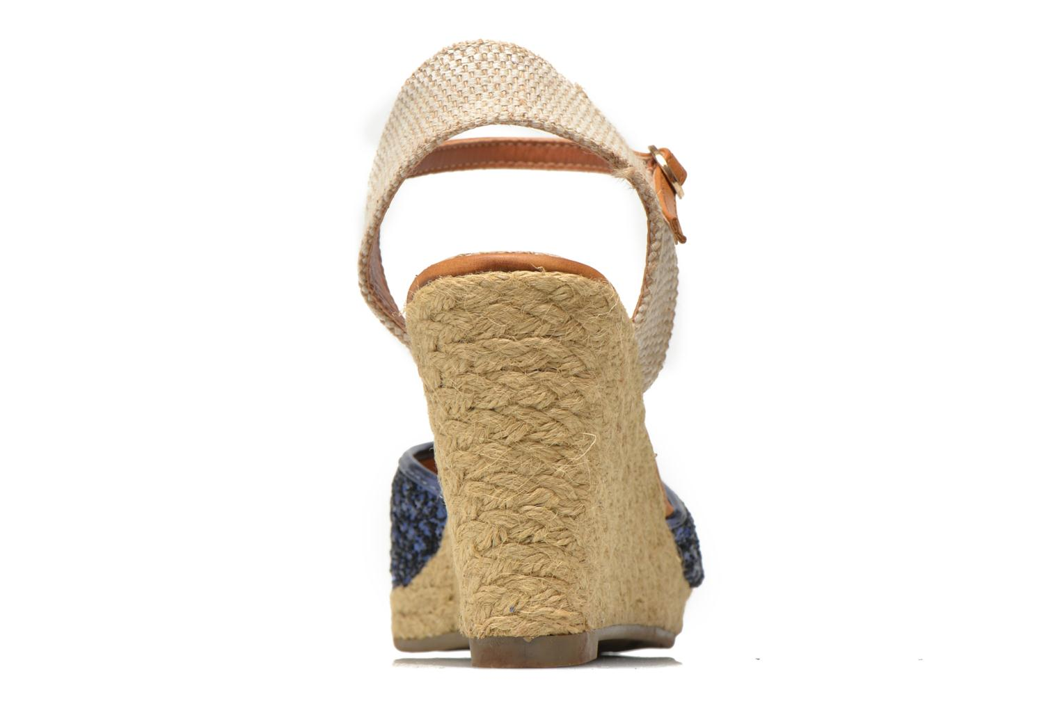 Espadrilles Xti Arousa 45812 Blue view from the right