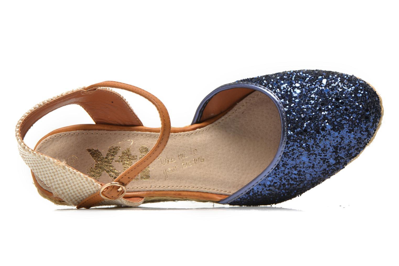 Espadrilles Xti Arousa 45812 blau ansicht von links