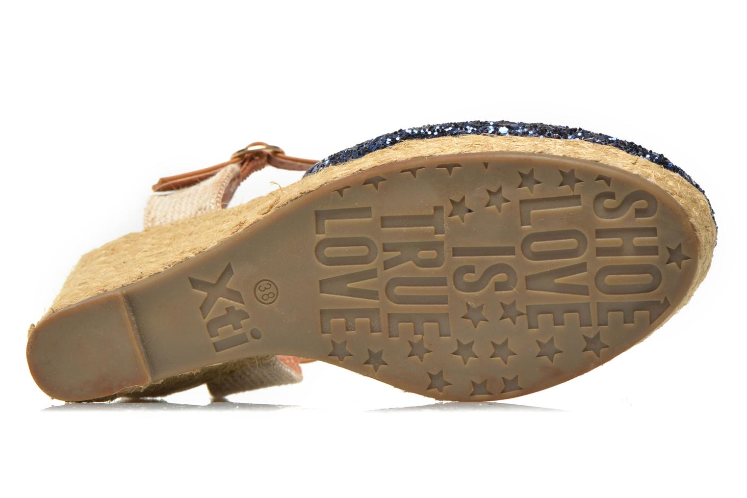 Espadrilles Xti Arousa 45812 Blue view from above