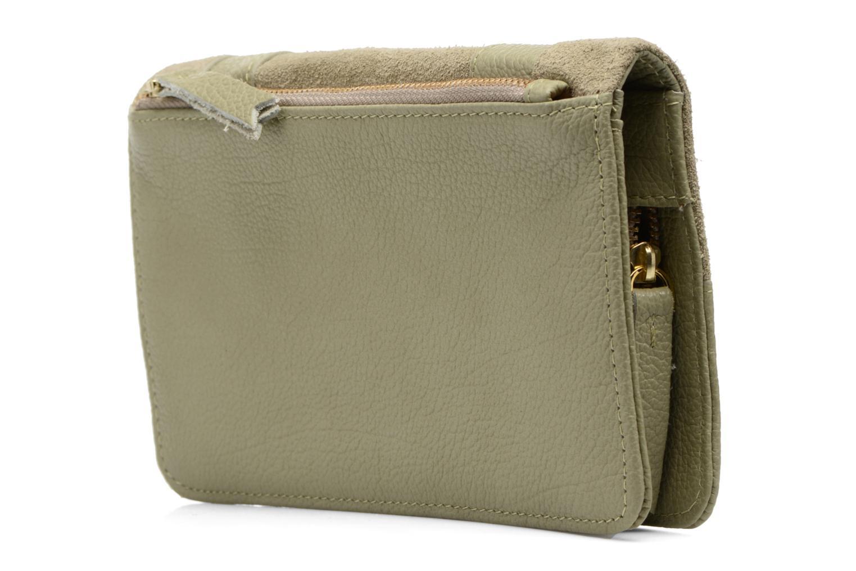 Portemonnaies & Clutches Nat & Nin Talia grün ansicht von rechts