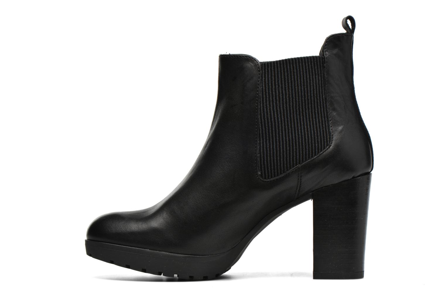 Ankle boots Georgia Rose Anateau Black front view