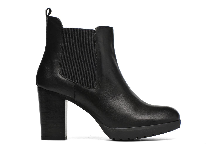 Bottines et boots Georgia Rose Anateau Noir vue derrière