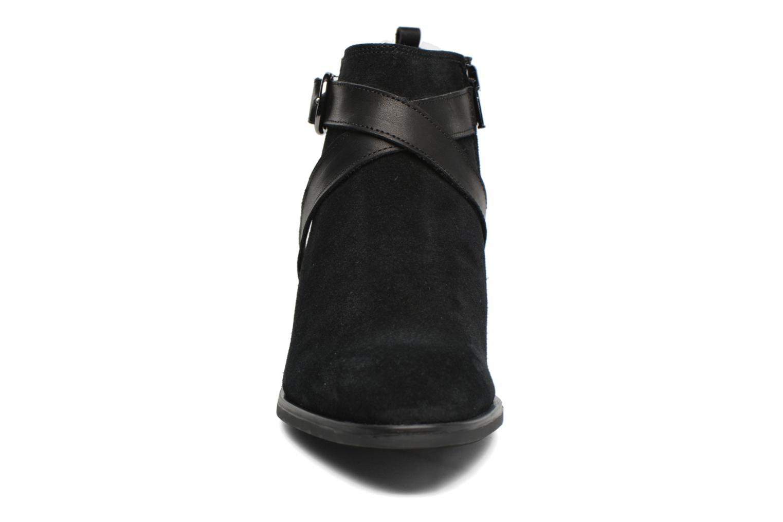 Bottines et boots Georgia Rose Anoucle Noir vue portées chaussures