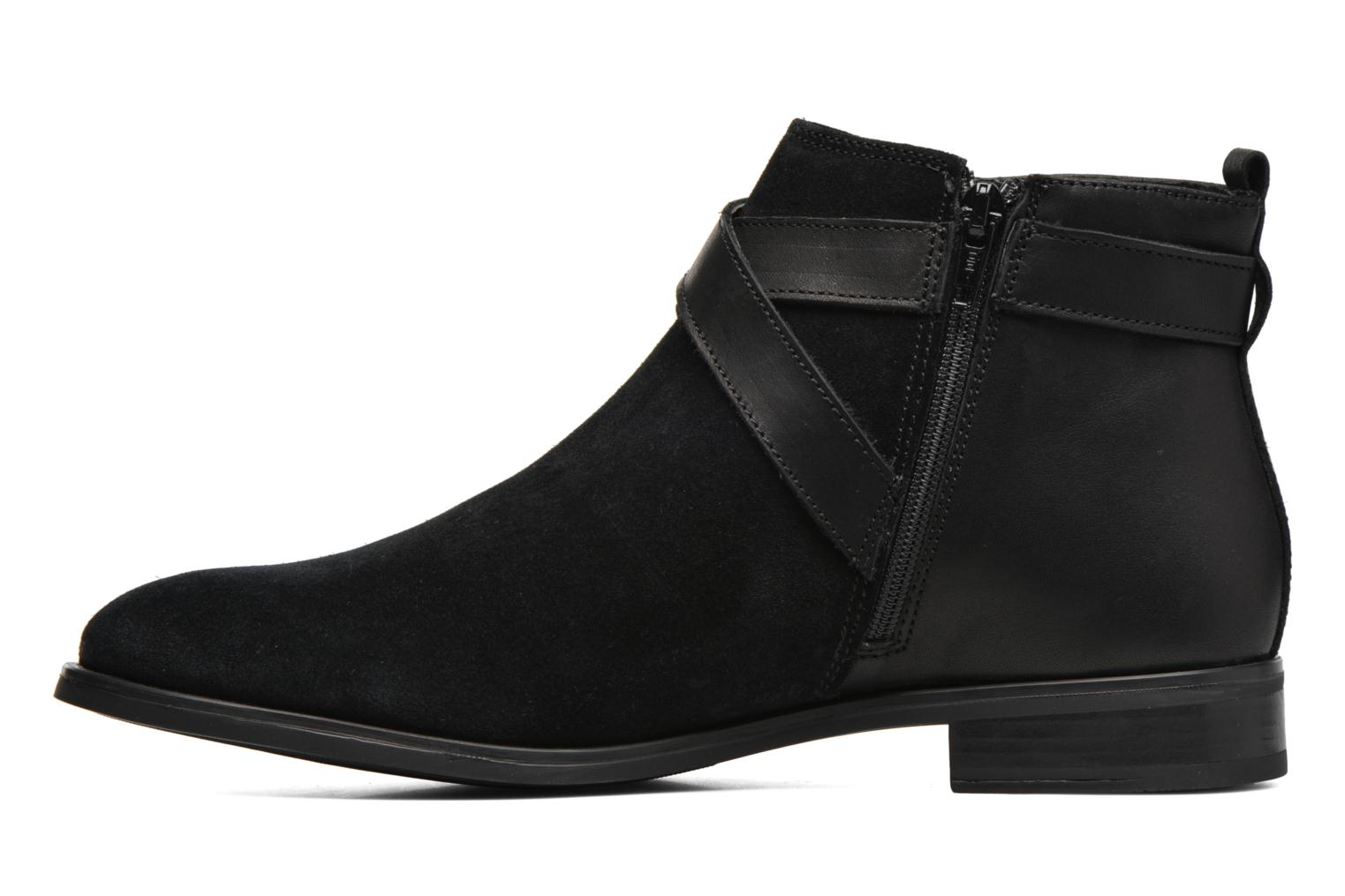 Ankle boots Georgia Rose Anoucle Black front view