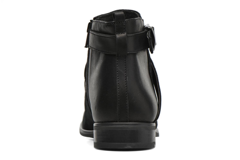 Anoucle Velours noir + vit noir