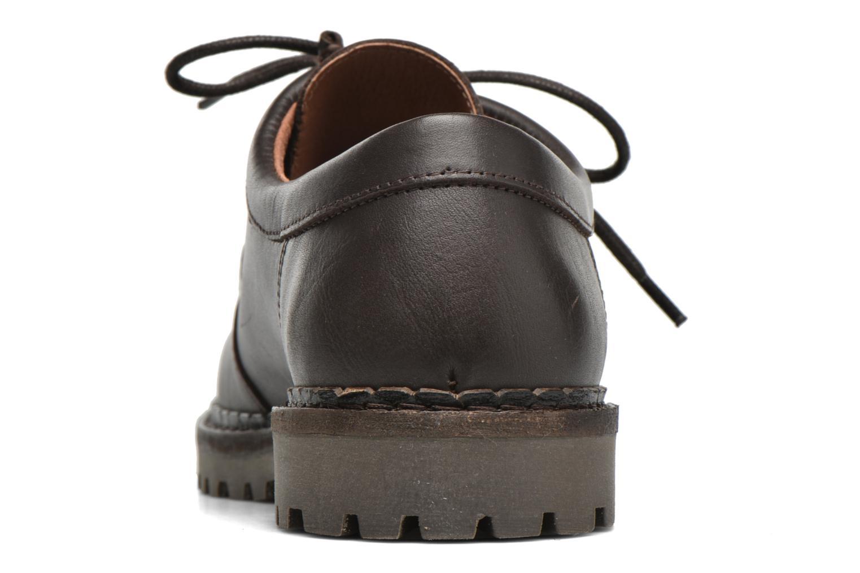 Chaussures à lacets Marvin&Co Kingston Marron vue droite