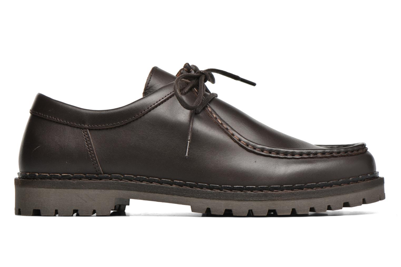 Chaussures à lacets Marvin&Co Kingston Marron vue derrière