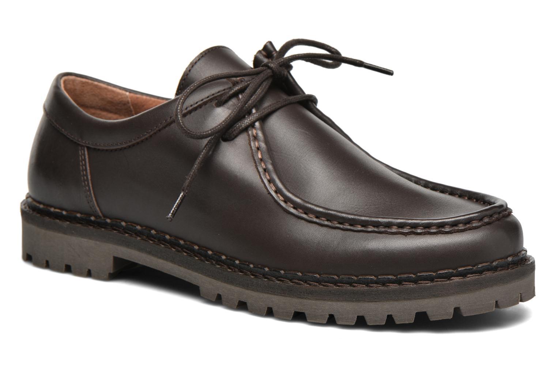 Chaussures à lacets Marvin&Co Kingston Marron vue détail/paire