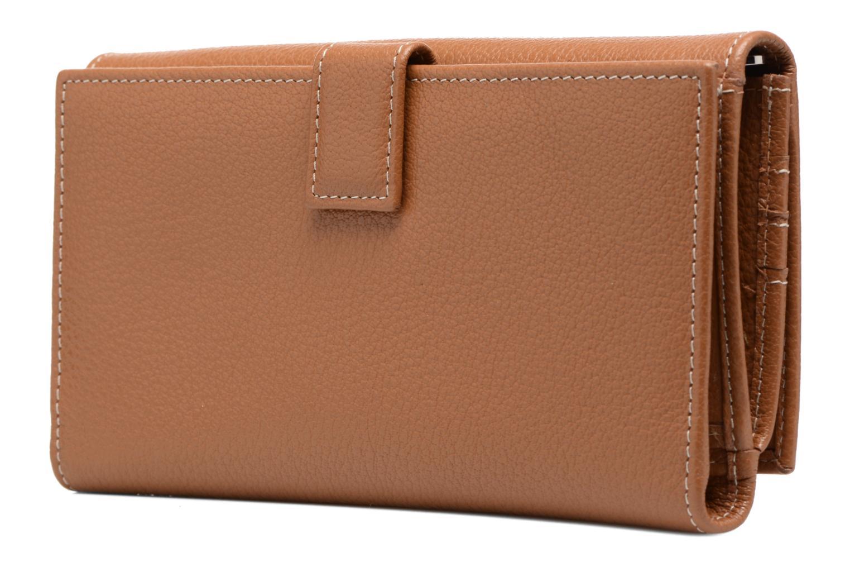 Portemonnaies & Clutches Mac Douglas BUNI Gondole Portefeuille braun ansicht von rechts