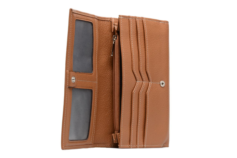 Portemonnaies & Clutches Mac Douglas BUNI Gondole Portefeuille braun ansicht von links