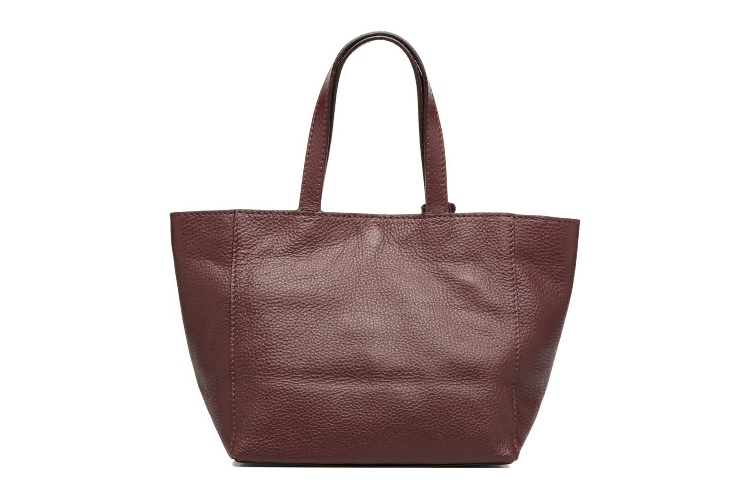 Handbags Loxwood CABAS PARISIEN S Cuir grainé Burgundy front view
