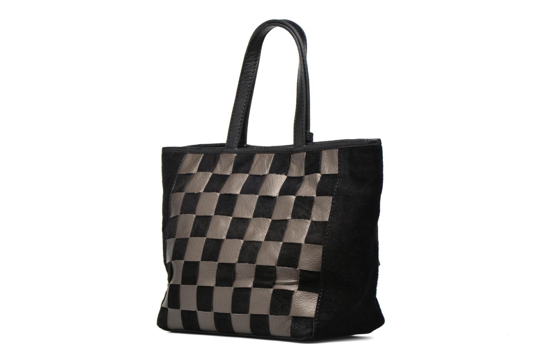 Handtaschen Loxwood CABAS PARISIEN Cuir damier schwarz ansicht von rechts