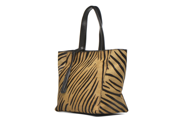 Handtaschen Loxwood CABAS PARISIEN S braun schuhe getragen