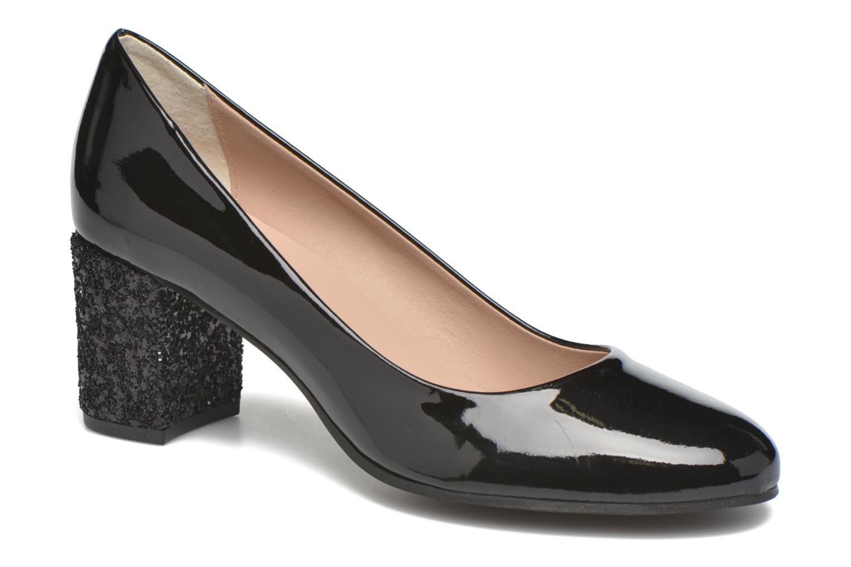High heels Georgia Rose Jalerba Black detailed view/ Pair view