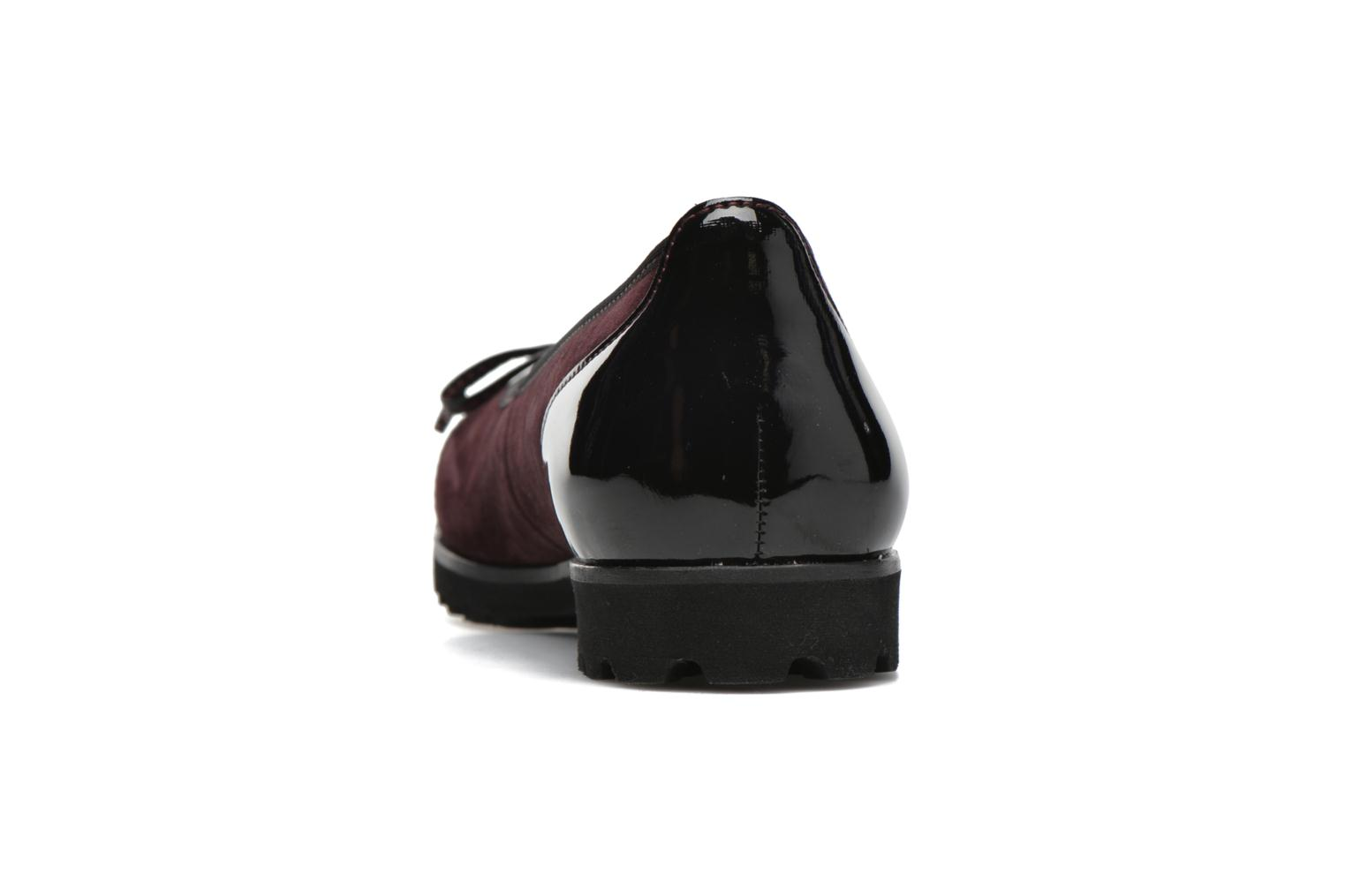 Ballet pumps Gabor Lidia Red view from the right