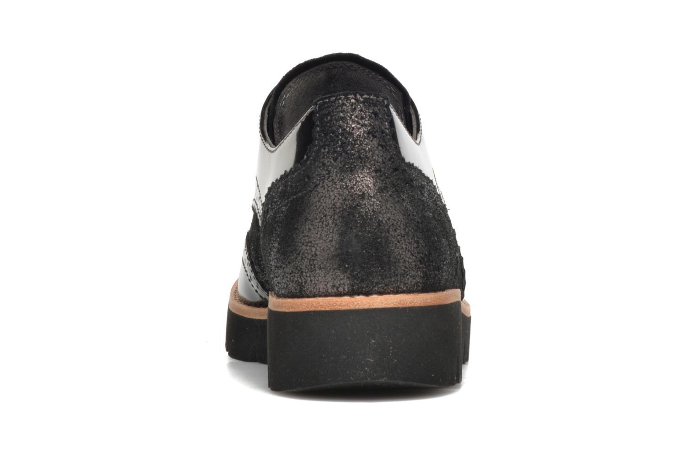 Chaussures à lacets Gabor Susan Gris vue droite