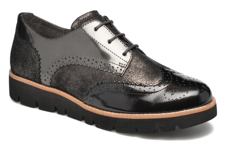 Zapatos con cordones Gabor Susan Gris vista de detalle / par