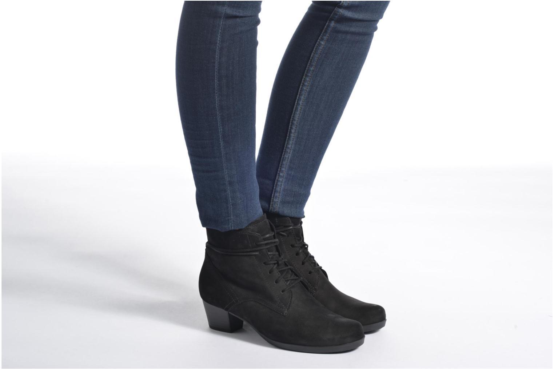 Bottines et boots Gabor Athen Noir vue bas / vue portée sac
