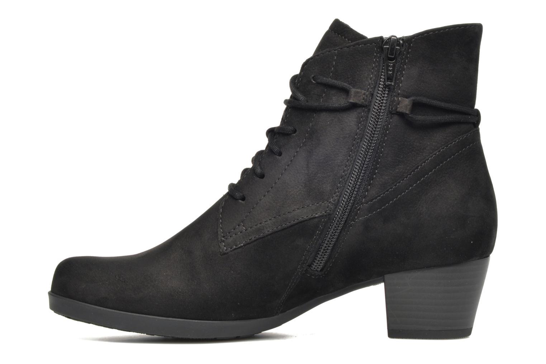 Bottines et boots Gabor Athen Noir vue face