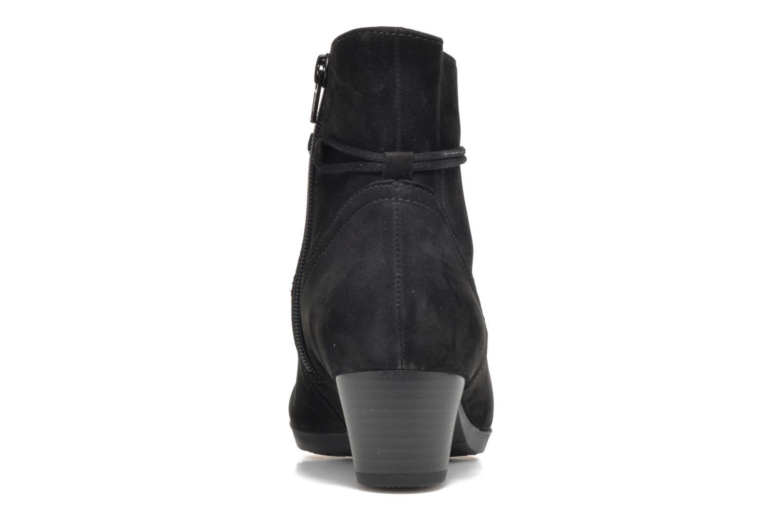 Bottines et boots Gabor Athen Noir vue droite
