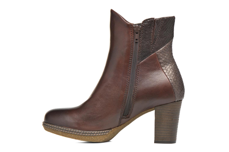 Bottines et boots Gabor Aurora Marron vue face
