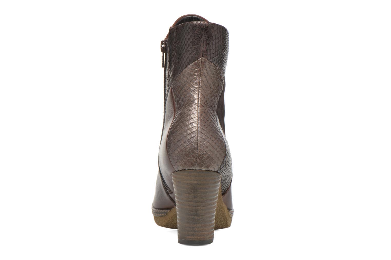 Bottines et boots Gabor Aurora Marron vue droite