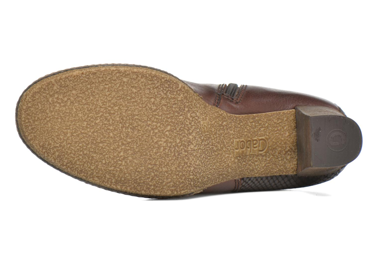 Bottines et boots Gabor Aurora Marron vue haut