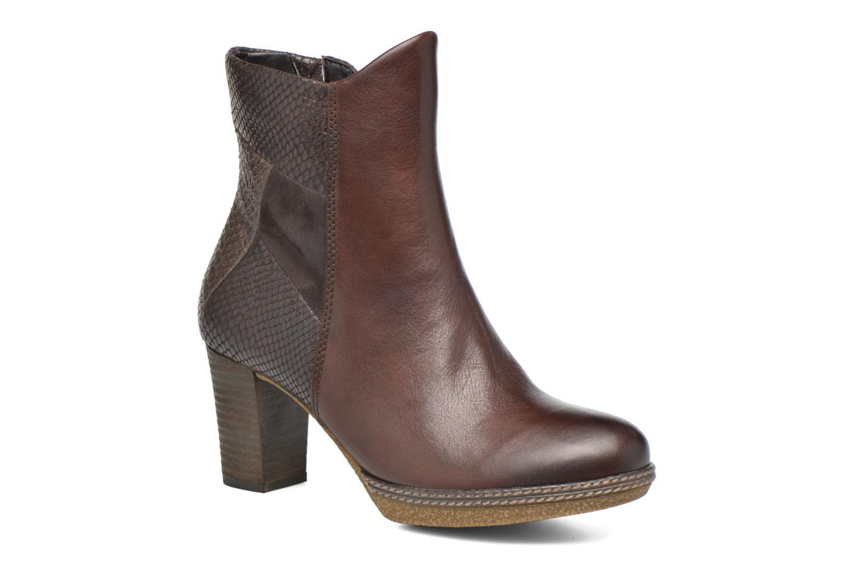 Bottines et boots Gabor Aurora Marron vue détail/paire