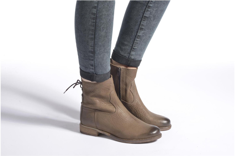Stiefeletten & Boots Josef Seibel Sienna 01 grau ansicht von unten / tasche getragen