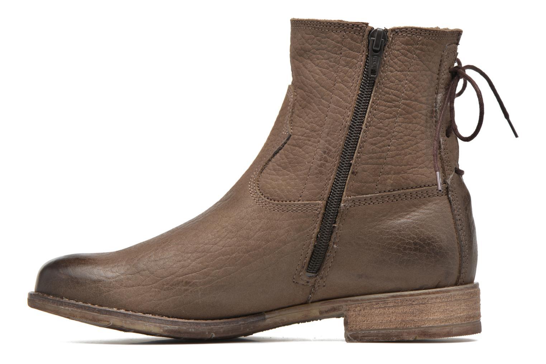 Bottines et boots Josef Seibel Sienna 01 Gris vue face