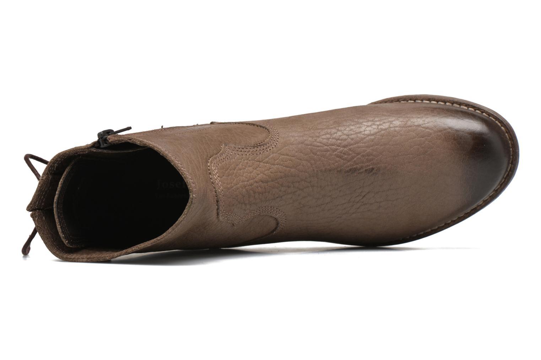 Stiefeletten & Boots Josef Seibel Sienna 01 grau ansicht von links