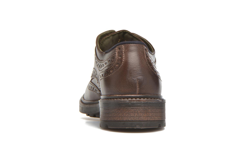 Chaussures à lacets Josef Seibel Oscar 19 Marron vue droite