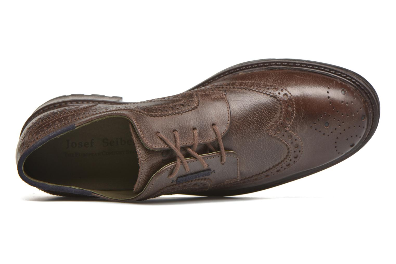 Chaussures à lacets Josef Seibel Oscar 19 Marron vue gauche