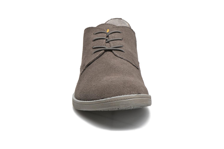 Zapatos con cordones DUDE Volterra Gris vista del modelo