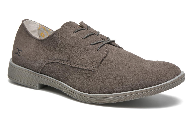 Zapatos con cordones DUDE Volterra Gris vista de detalle / par