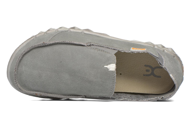 Loafers DUDE Farty Suede Grå bild från vänster sidan