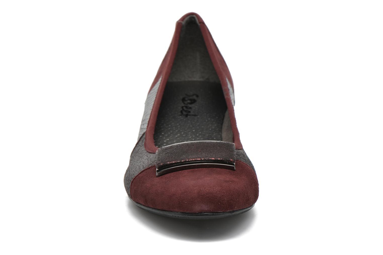Escarpins Sweet Fille Bordeaux vue portées chaussures