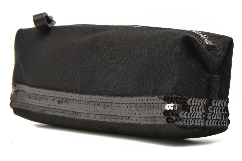 School bags Vanessa Bruno Trousse paillettes toile Black model view