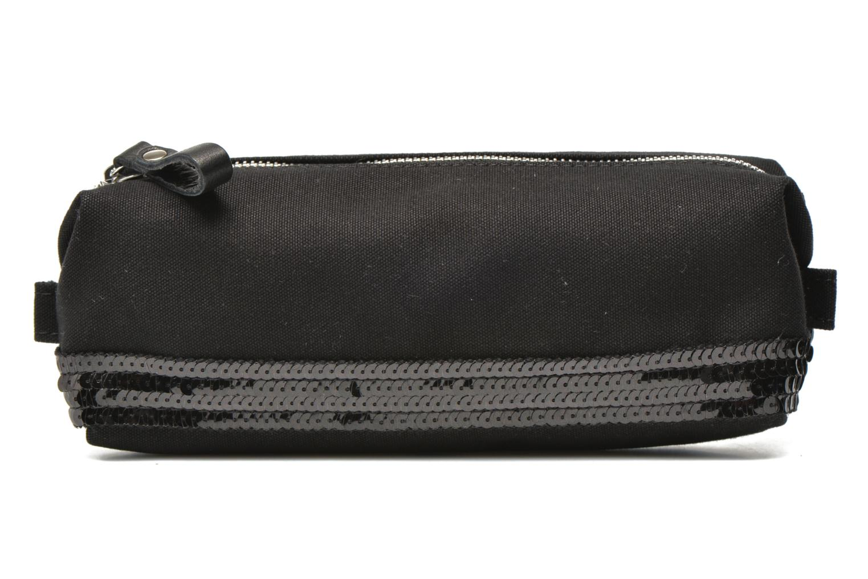 School bags Vanessa Bruno Trousse paillettes toile Black detailed view/ Pair view