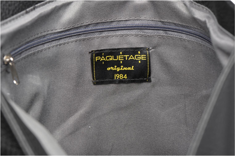 Borse Paquetage Seau grainé B Nero immagine posteriore
