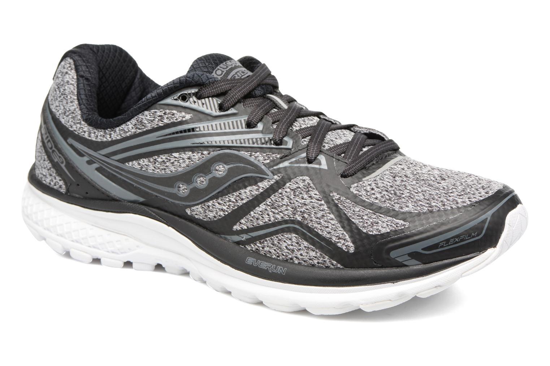 Chaussures de sport Saucony Ride 9 Noir vue détail/paire