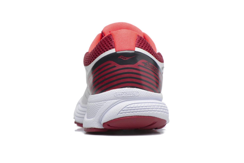 Chaussures de sport Saucony Swerve W Blanc vue droite