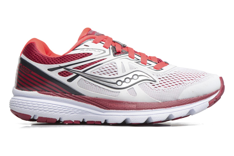 Chaussures de sport Saucony Swerve W Blanc vue derrière