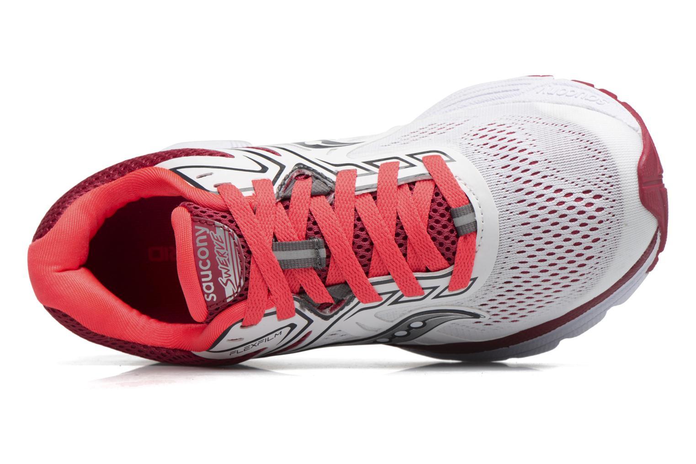 Chaussures de sport Saucony Swerve W Blanc vue gauche