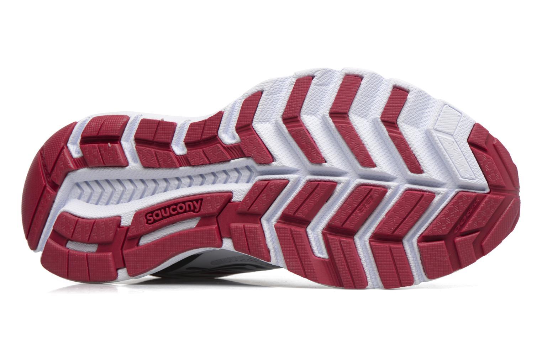 Chaussures de sport Saucony Swerve W Blanc vue haut