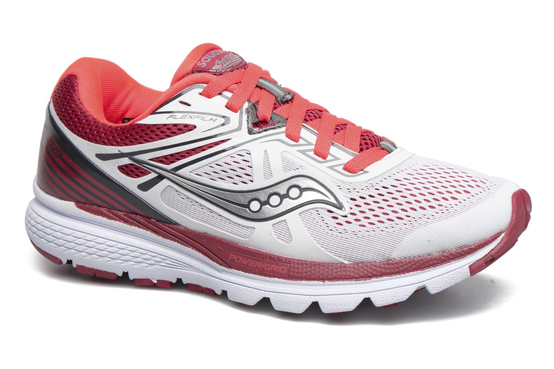 Chaussures de sport Saucony Swerve W Blanc vue détail/paire