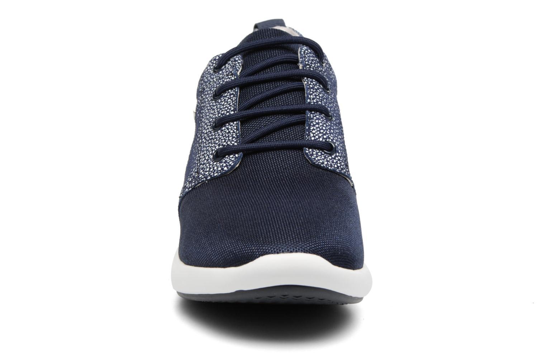 Baskets Geox D OPHIRA A D621CA Bleu vue portées chaussures