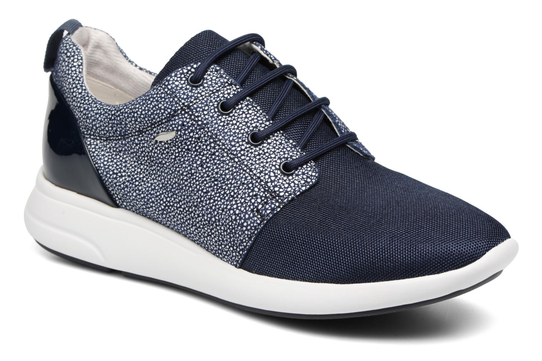 Baskets Geox D OPHIRA A D621CA Bleu vue détail/paire