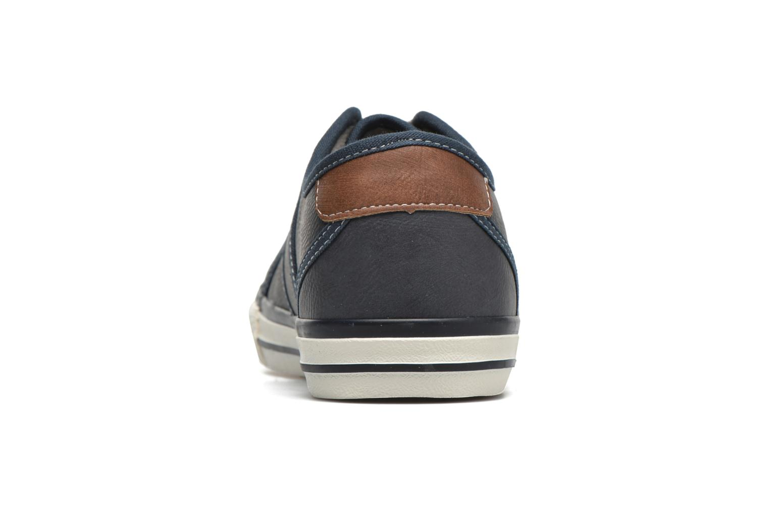Trainers Mustang shoes Pluy Blue view from the right