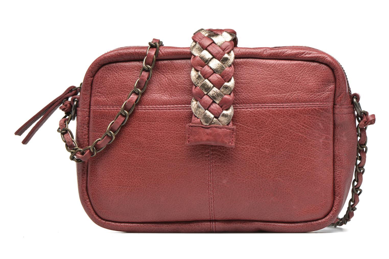 Handtaschen Pieces PIVO Leather Crossbody bag weinrot detaillierte ansicht/modell